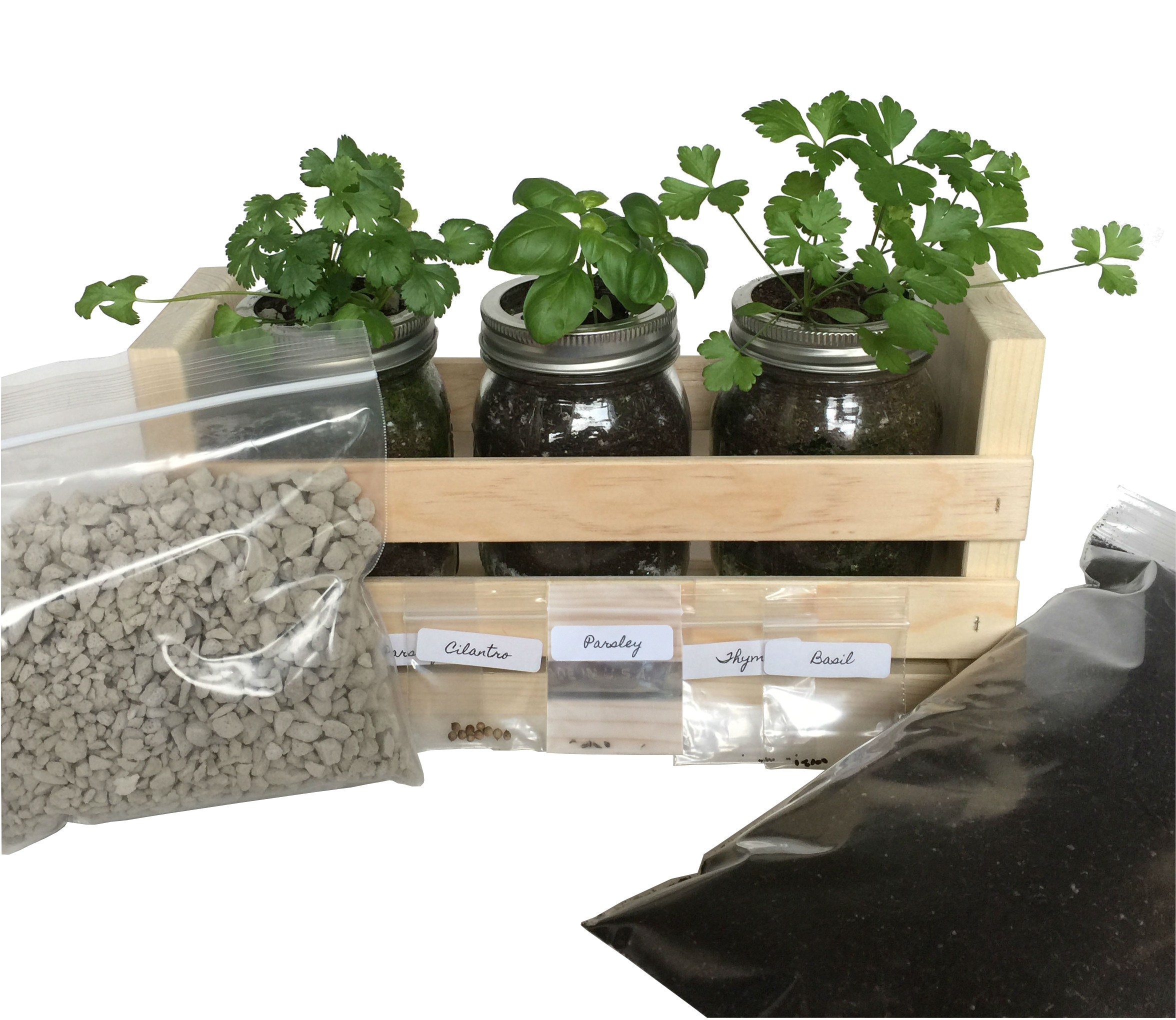 Herb Kits For Indoors: Buy Kitchen Herb Garden Kit